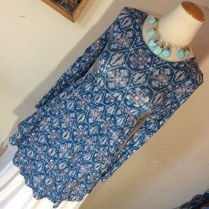 O'Neill Babydoll Belle Sleeve Mini Dress